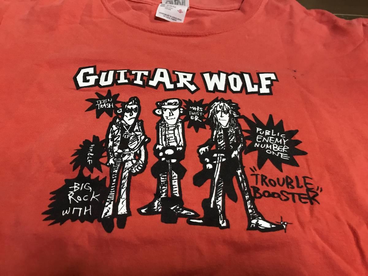 ギターウルフのTシャツ Sサイズ