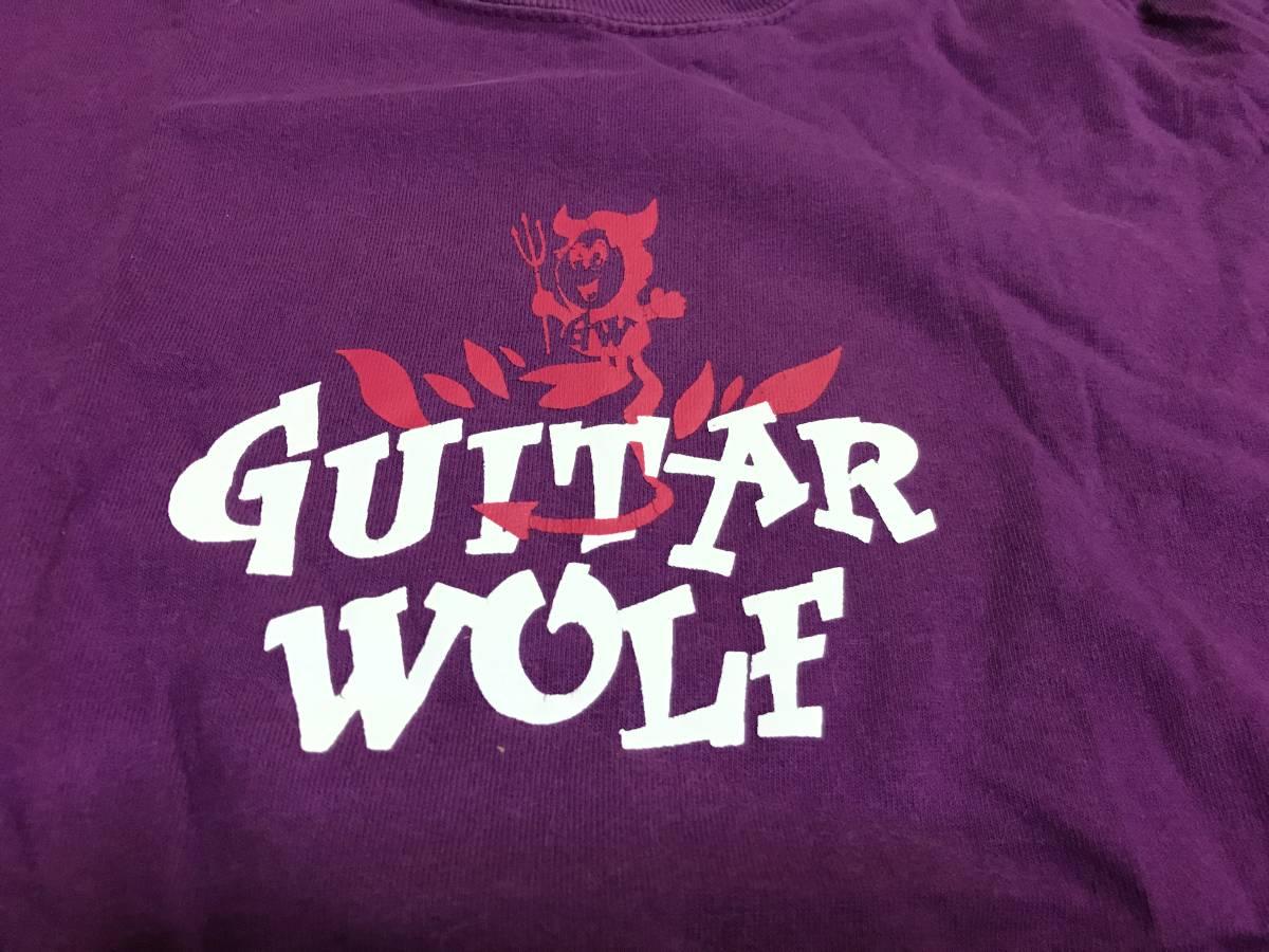 Guitar Wolf ギターウルフ Tシャツ Sサイズ