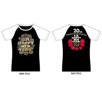 【新品未開封】L'Arc-en-Ciel L'A HAPPY NEW YEAR ロックTシャツ Mサイズ ラピニュ ラニバ hyde