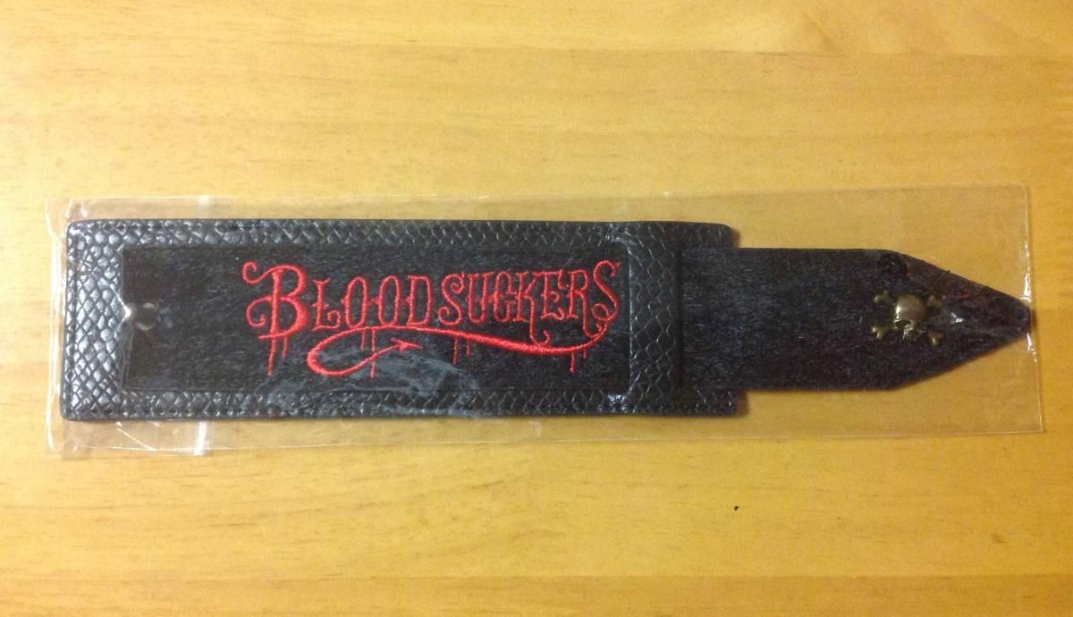 VAMPS 会場限定 レザーブレスレット 黒 未使用品 HYDE VAMPS LIVE 2015 BLOODSUCKERS ラルク