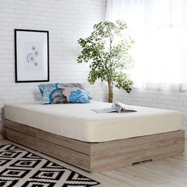(説明文必読)新品 ベッド クイーン ベッドフレーム クイーンサイズ 収納ベッド ベット 収納ベット クイーンベッド