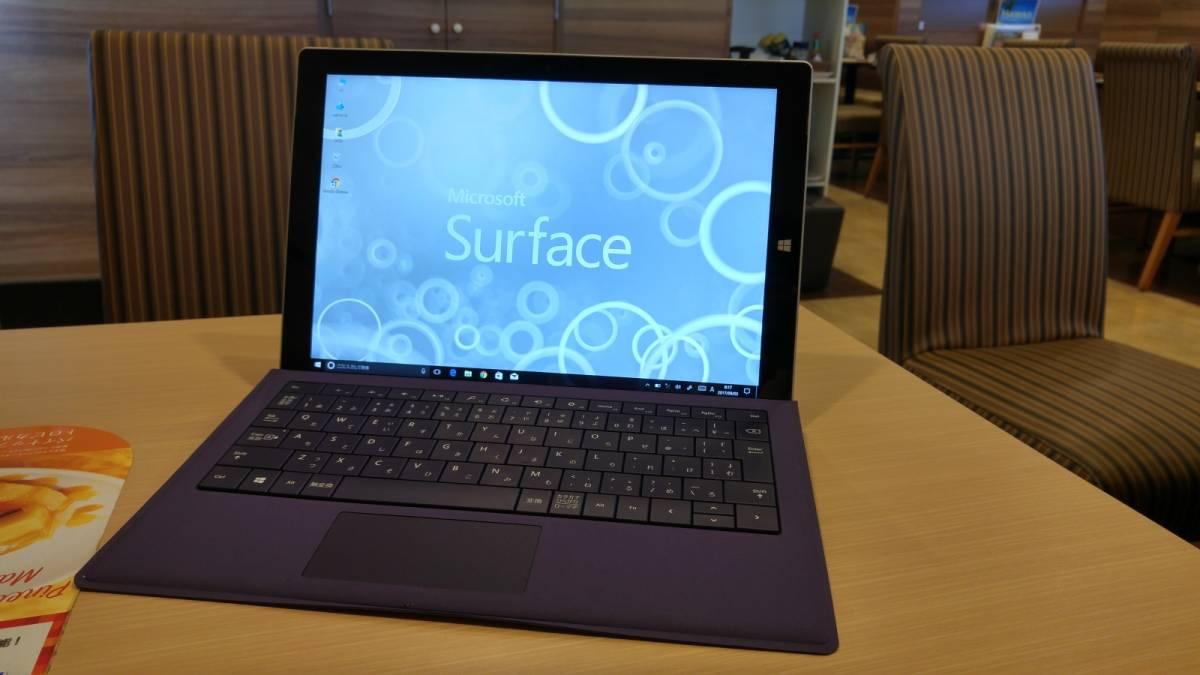 最高スペック Surface Pro3 Core-i7/メモリー8G/SSD-512G/タイプカバー付属/スタライズペン付き/Office2013 送料込み