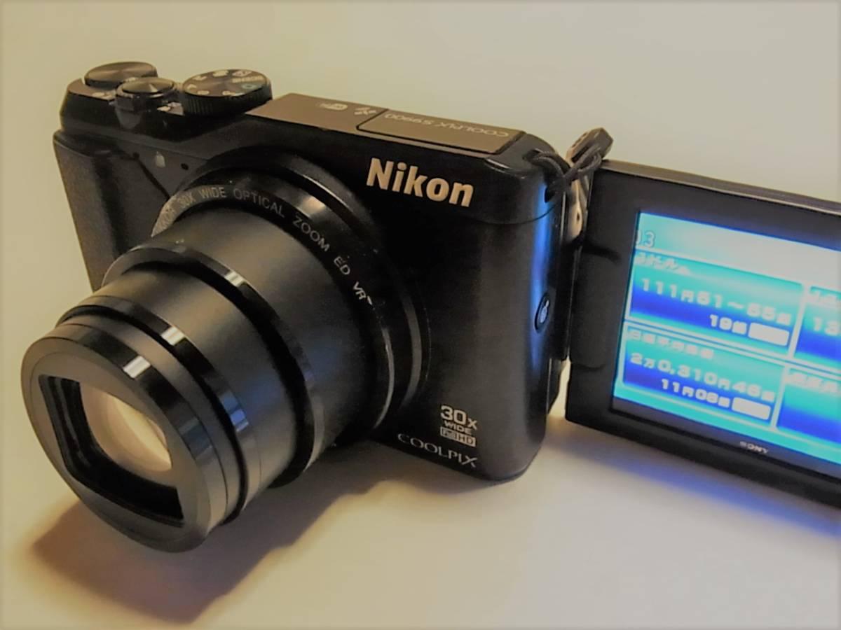 ★中古 Nikon ニコン COOLPIX S9900 デジタルカメラ★