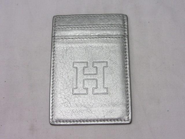 ◆ヒロフ HIROFU パスケース シルバー/中古