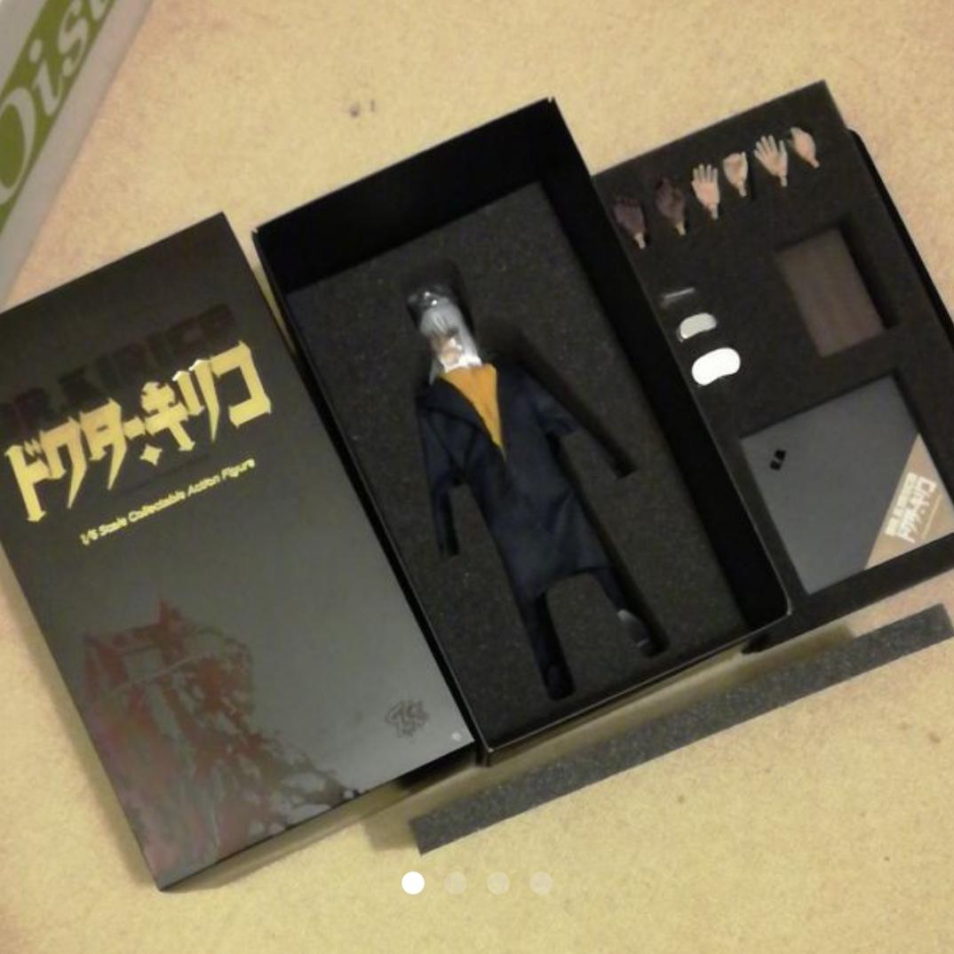 【即決】ブラックジャック ドクター・キリコ フィギュア ドール 人形 グッズの画像