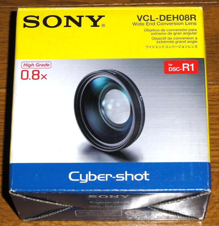 新品 ソニー DSC-R1用 ワイコンレンズ VCL-DEH08R 送料無料