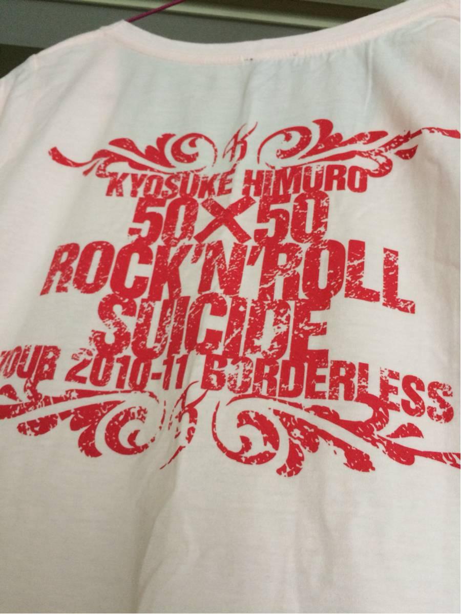 氷室京介 TOUR 2010-11 BORDERLESS ツアーTシャツ レディース