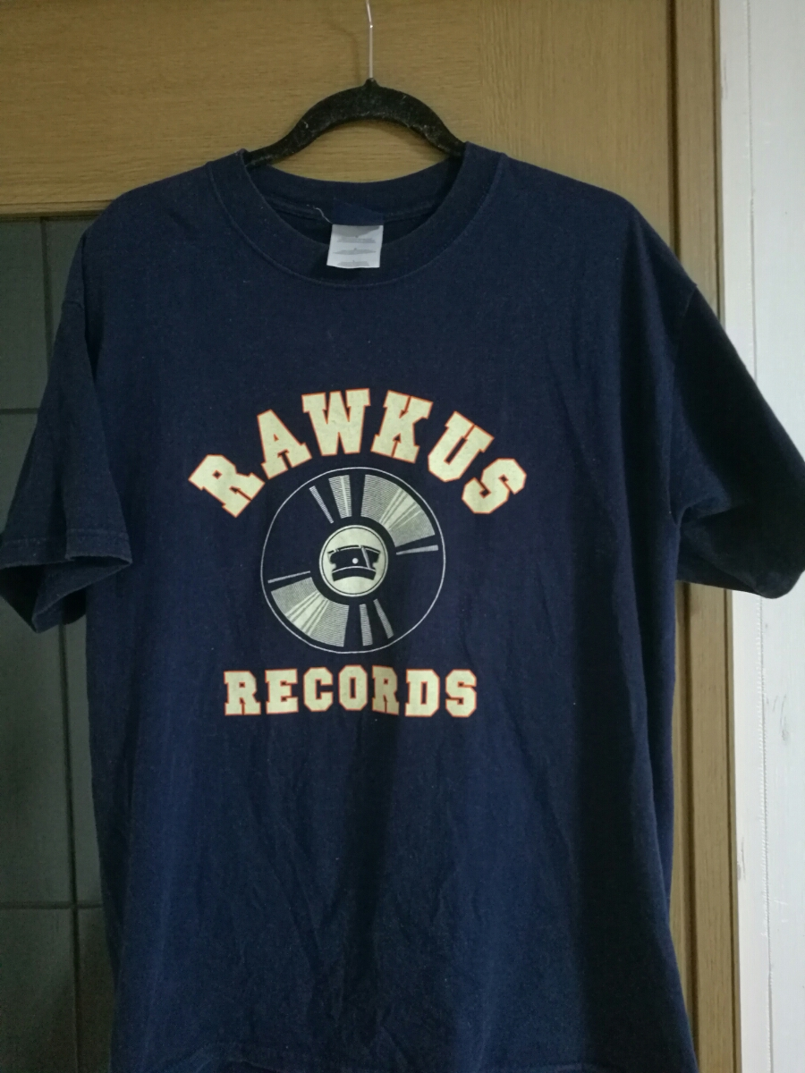 RAWKUS RECORDS Tシャツ ヒップホップ ビンテージ MOS DEF PHAROAHE MONCH COMPANY FLOW TALIB KWELI BIG L RAP TEES