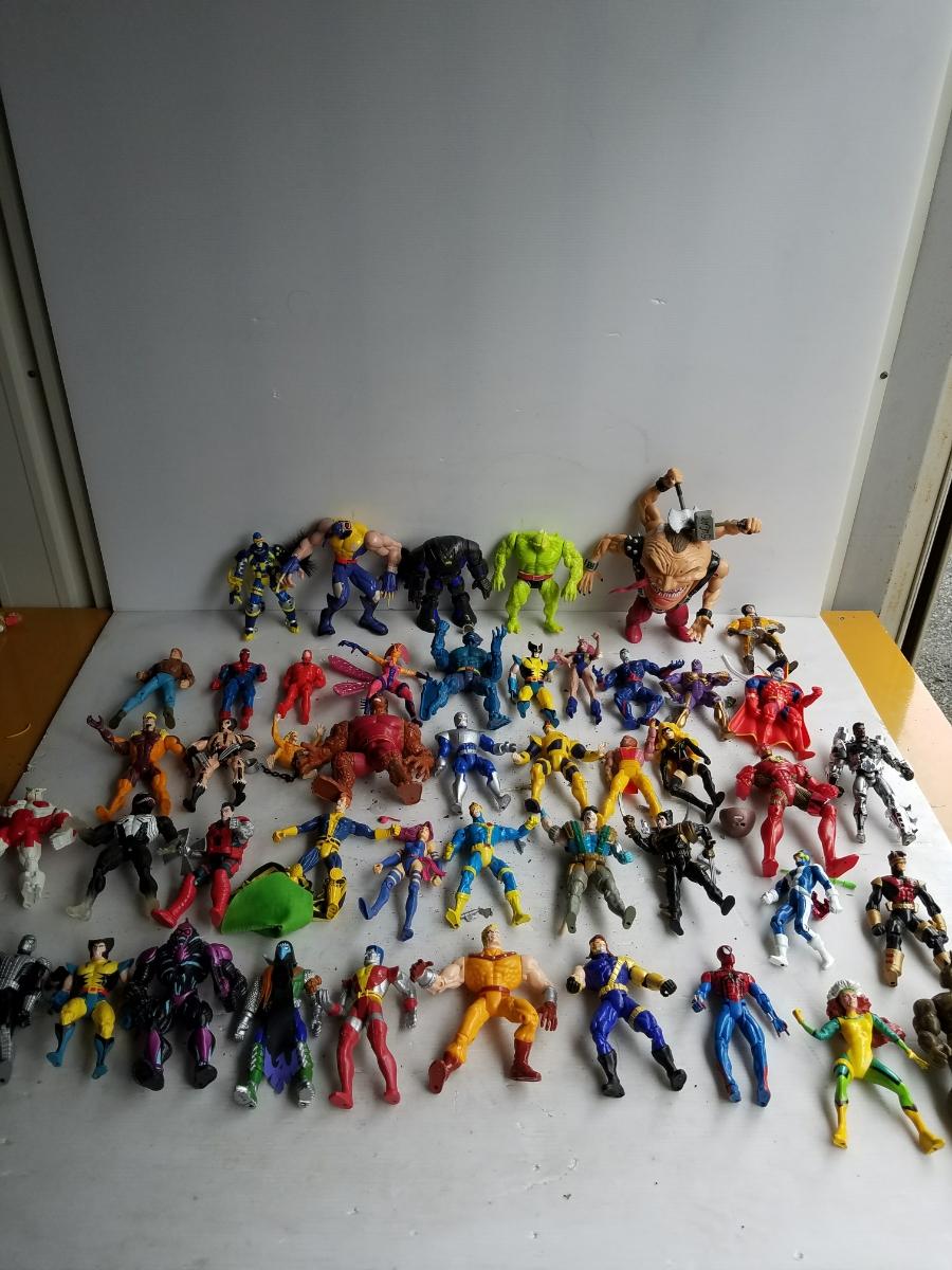 マーベルヒーローズ 大量フィギュア 約130体 グッズの画像