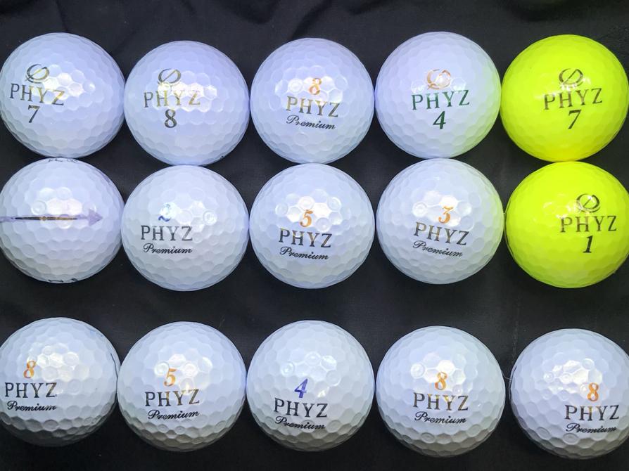 人気ボール!!《特A/A級》ファイズプレミアム/PHYZ/ツアーステージファイズ 27球 ロストボール!_画像3