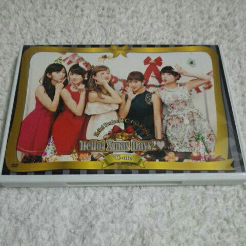 ☆DVD『Hello! Project FCイベント2014 ℃-ute Hello! Xmas Days2』 ライブグッズの画像
