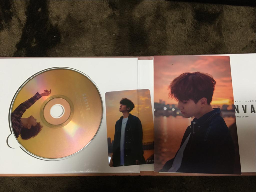 2PM JUNHO ジュノ アルバム CANVAS
