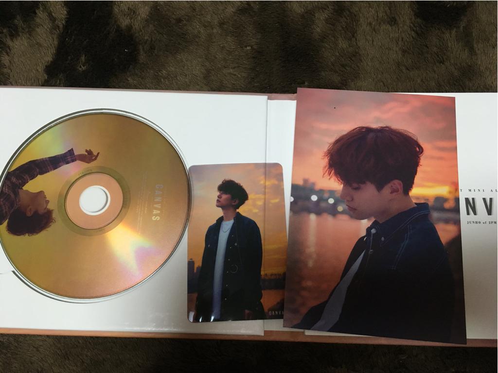 2PM JUNHO ジュノ アルバム CANVAS2
