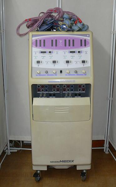 ◎千葉 引取限定 セダンテ ミリア 2 SD-5202E 干渉電流型 低周波治療器 USED品 日本メデ