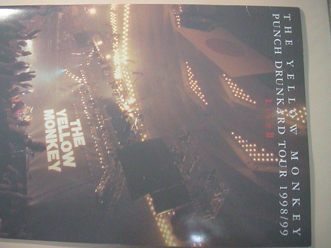 パンフレット ザイエローモンキー PUNCH DRUNKARD TOUR 1998/99 LiveⅡ THE YELLOW MONKEY イエモン