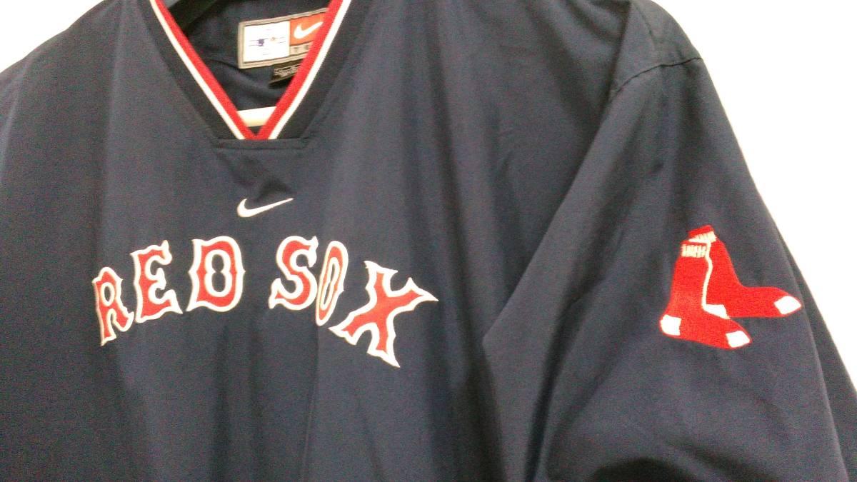 ナイキ NIKE ボストン レッドソックス ジャケット ジャンバー MLB グッズの画像