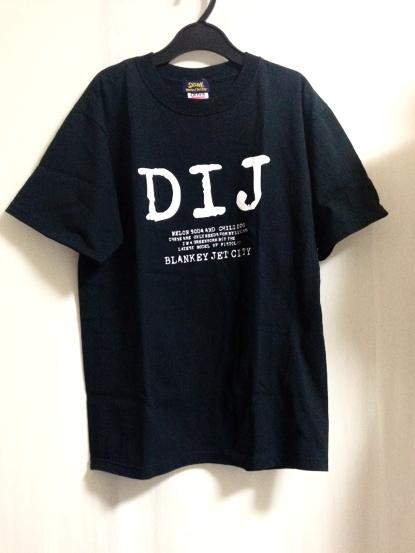 美品 ブランキージェットシティ DIJ Tシャツ 浅井健一 椎名林檎 ライブグッズの画像