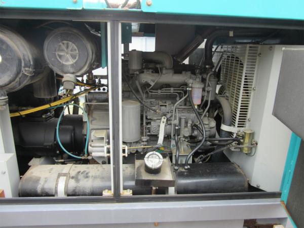 DENYO デンヨー エンジン コンプレッサー DIS-390ES ディーゼル 大型 コンプレッサ_画像2