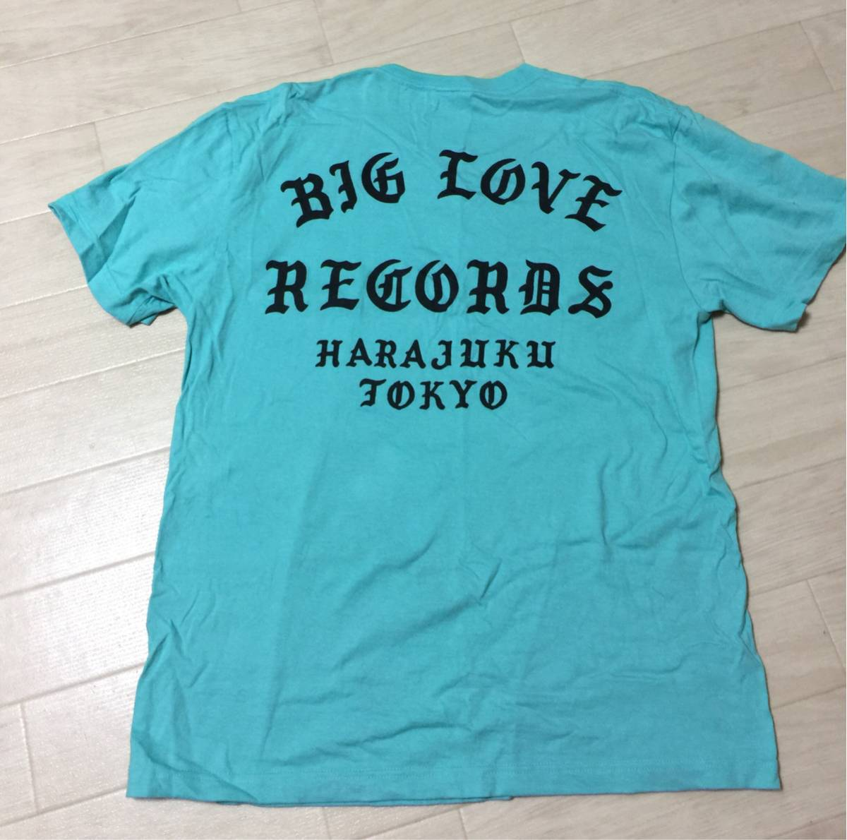 big love records 限定TシャツL 原宿 cali thornhill dewitt ビッグラブ kanye west yeezy gr8 fear of god the xx