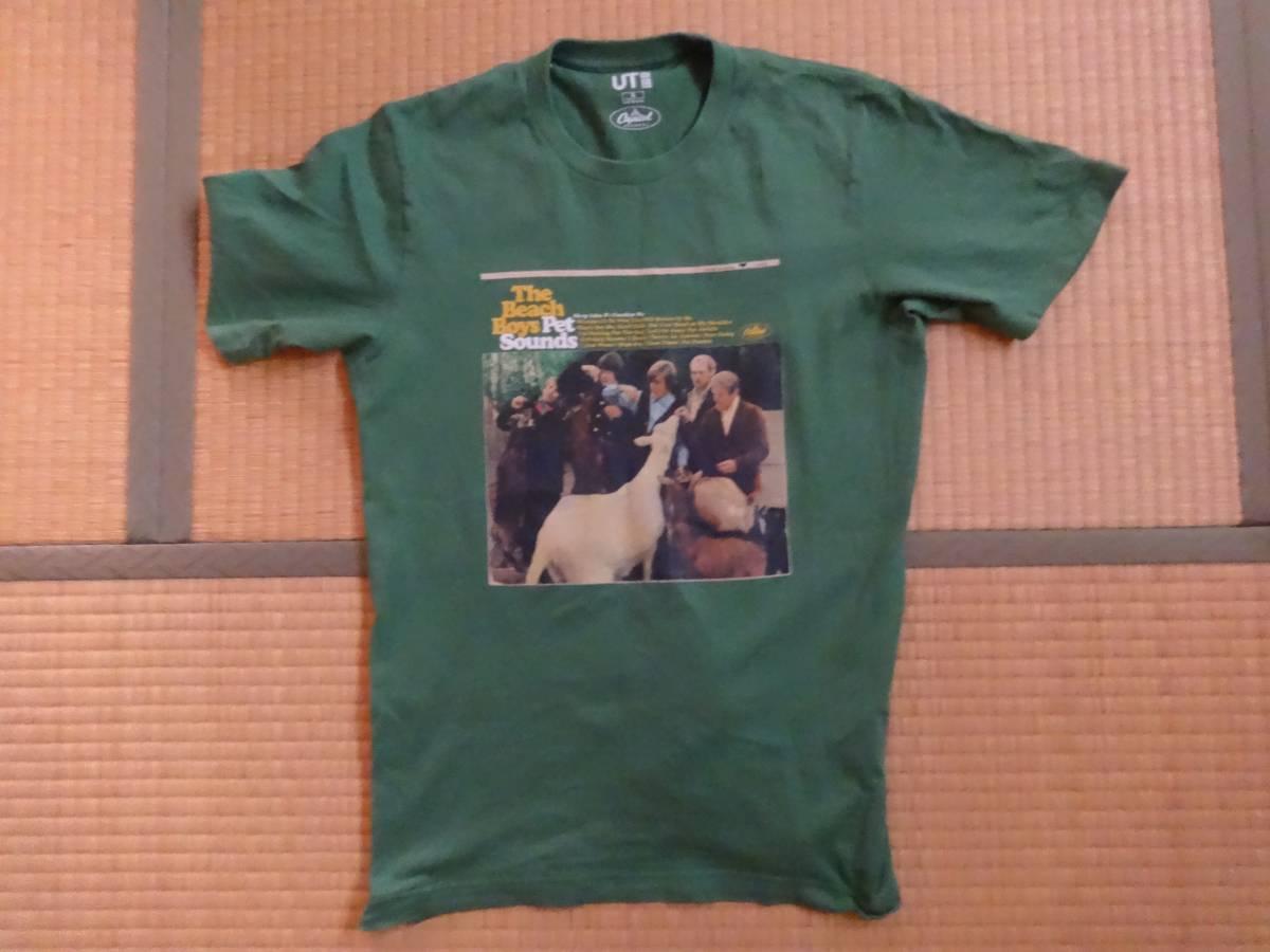 ビーチボーイズ  Tシャツ キャピトルレコード 「Pet Sounds」 The Beach Boys 75th Mサイズ ユーズド