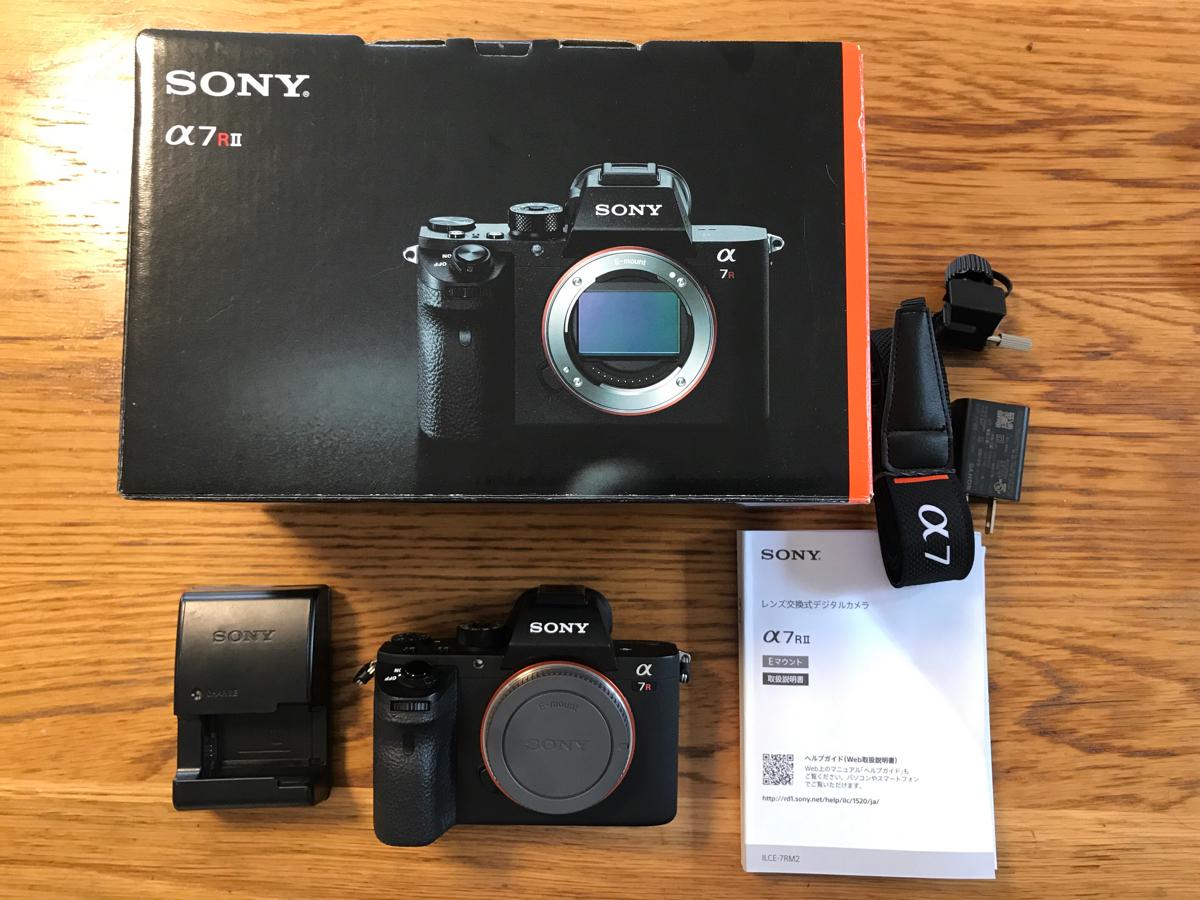 SONY デジタル一眼カメラ α7R II ILCE-7RM2 ボディ