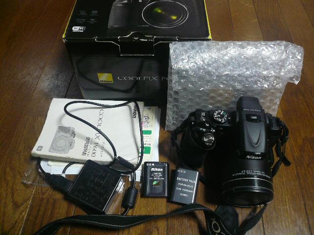 Nikon ニコン 超望遠コンパクトカメラ COOLPIX クールピクス P600 中古_画像3