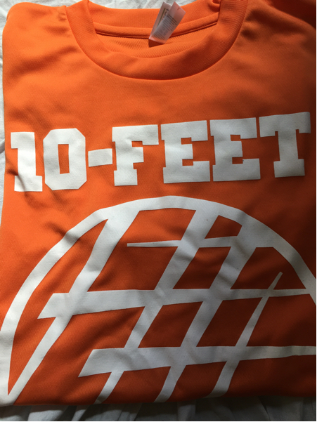 10-FEET アンテナラストツアー ドライTシャツ L