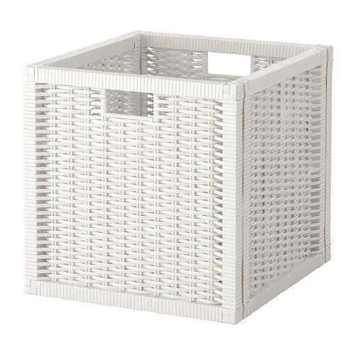 IKEAバスケットBRANASホワイト32x34x32 cm送料全国一律750円!