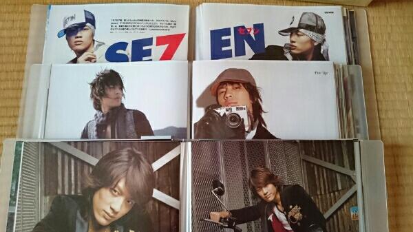 韓国歌手SE7EN セブンの韓国と日本の雑誌切り抜きなど ライブグッズの画像