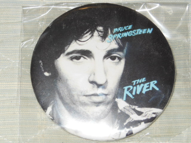●BRUCE SPRINGSTEEN THE RIVER BOX HMV限定特典・缶バッヂ 未開封