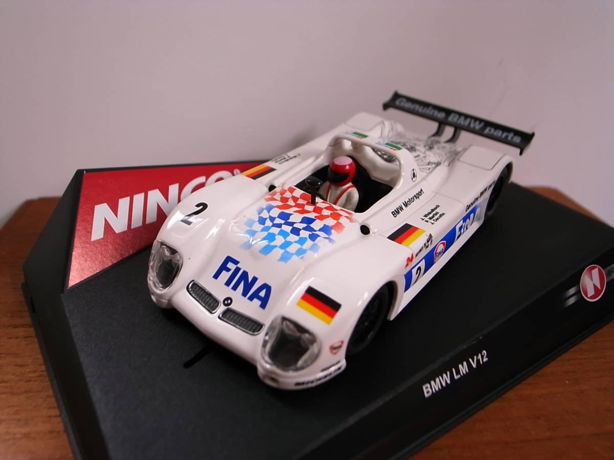 1/32 Ninco BMW LM V12 FINA #2 LeMans1998
