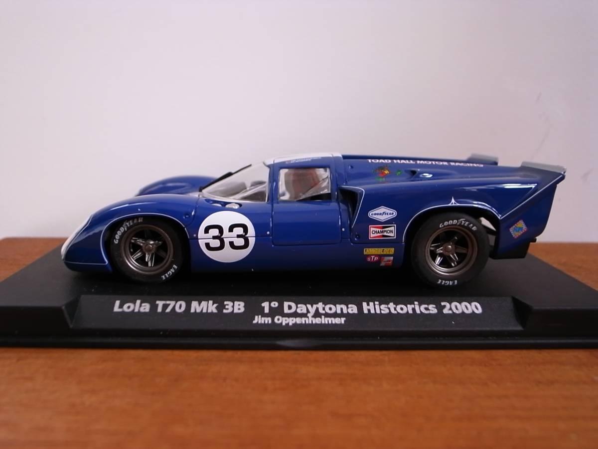 1/32 FLY LOLA T70 MK3B 1° Daytona Historics 2000
