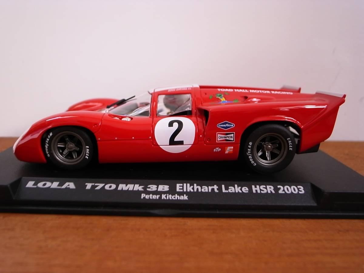 1/32 FLY LOLA T70 MK3B Elkhart lake HSR 2003