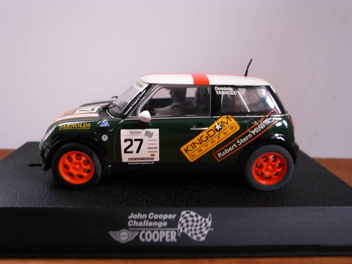 1/32 Scalextric BMW Mini John Cooper Challenge #27