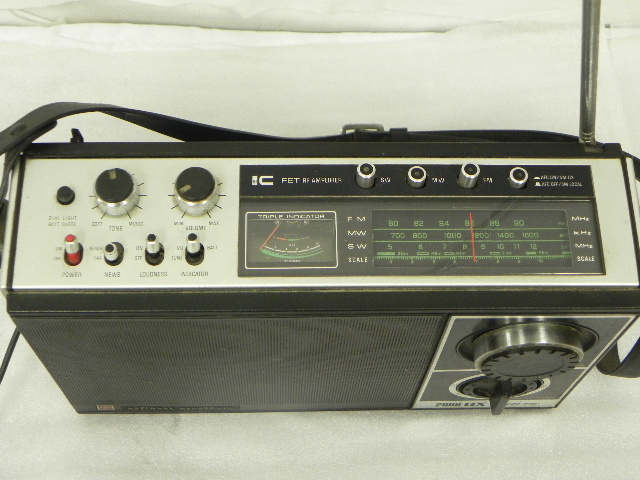 ナショナル 2000 GX Worldboy 2000GX ワールドボーイ RF-868 ジャンク品扱い_画像3