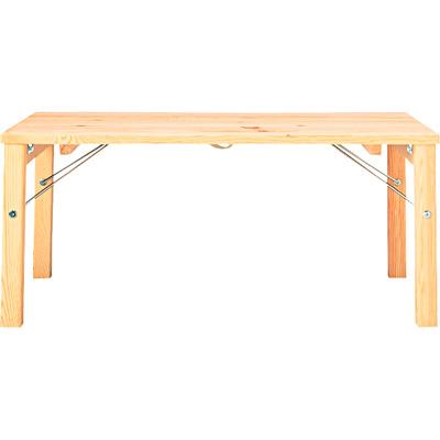 無印良品計画 パイン材 ローテーブル・折りたたみ式