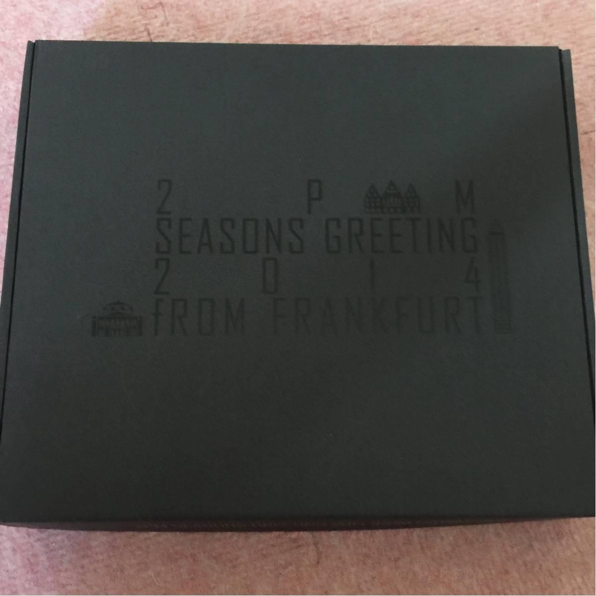 2PM Hottest限定 seasons Greeting 2014