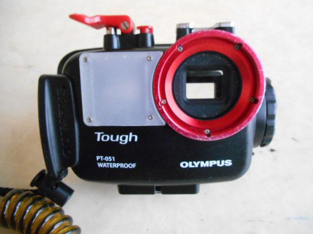 【送料安】OLYMPUSオリンパス【Toughタフ】PT-051防水プロテクター/ TG-610 TG-810用