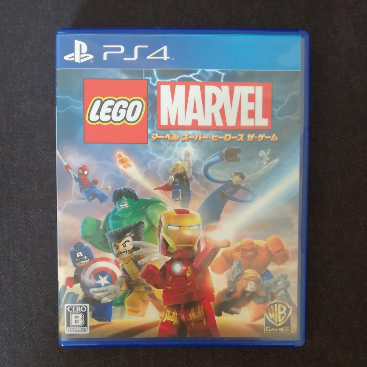 PS 4ソフト レゴマーベルスーパーヒーローズザゲーム LEGO MARVEL 美品 格安
