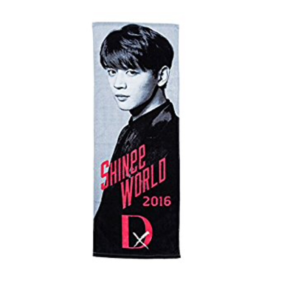 SHINee WORLD 2016 D×D×D JAPAN コンサート グッズ スポーツ タオル ミノ ミンホ ver.