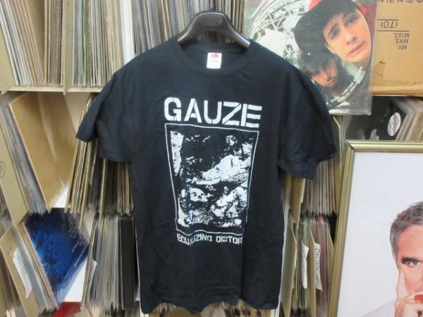 ◆新品未使用◆GAUZE(ガーゼ)◆Tシャツ 黒 Sサイズ★deathside,lipcream,gauze,punk,gizm,hardcore