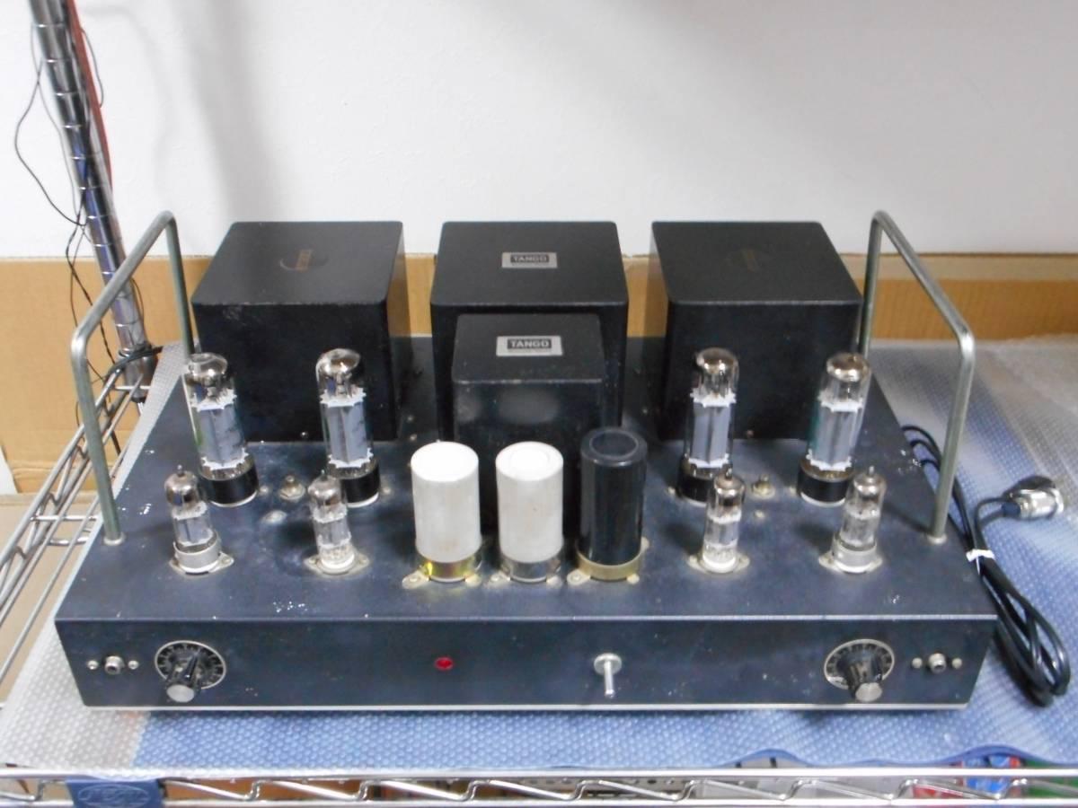 手作り EL34P.P 真空管パワーアンプ TANGO