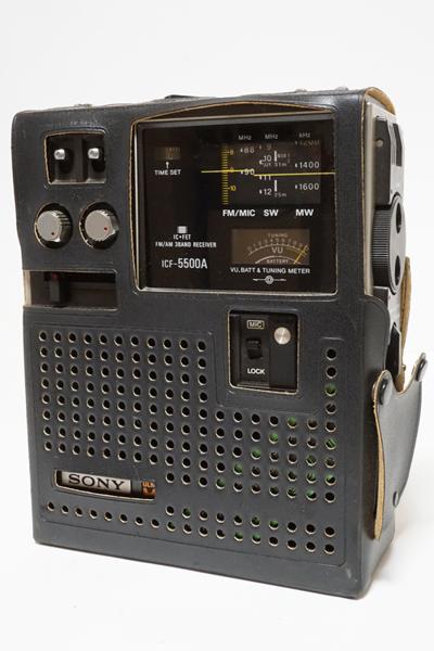 ジャンク! SONY ソニー 短波 3バンド BCLラジオ スカイセンサーICF 5500A