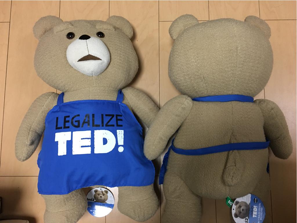 美品】TEDぬいぐるみ XL2つ グッズの画像