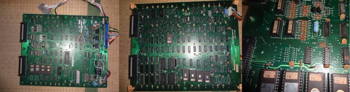 極レア 任天堂 ポパイ(1982年 オリジナルボードだと思いますが)PCB JAMMA変換H付!_商品全体