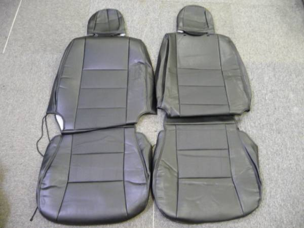 ★200系ハイエース S-GL用 フロント レザーシートカバー