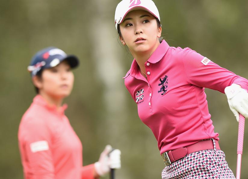 堀琴音 2L判写真1枚 女子ゴルフ ②