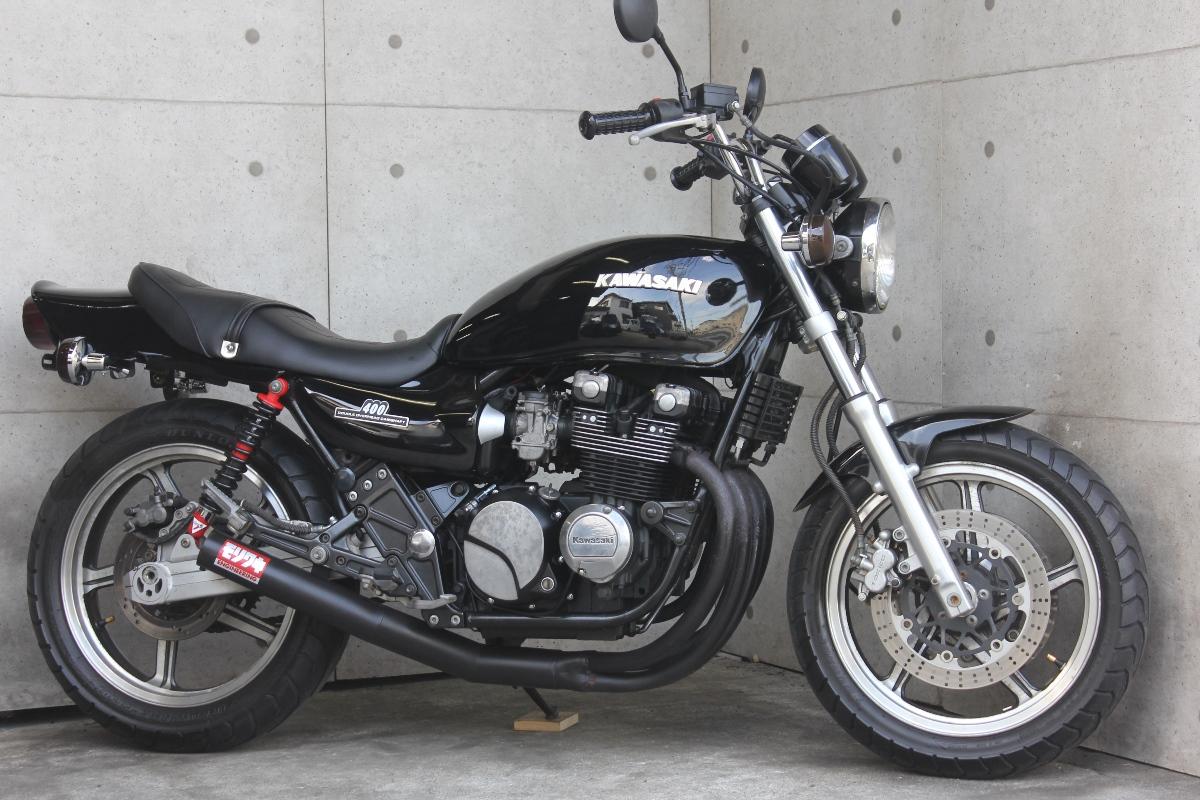 横浜~ Kawasaki ゼファー400 C5 Z2ブラック爆発仕様 好調