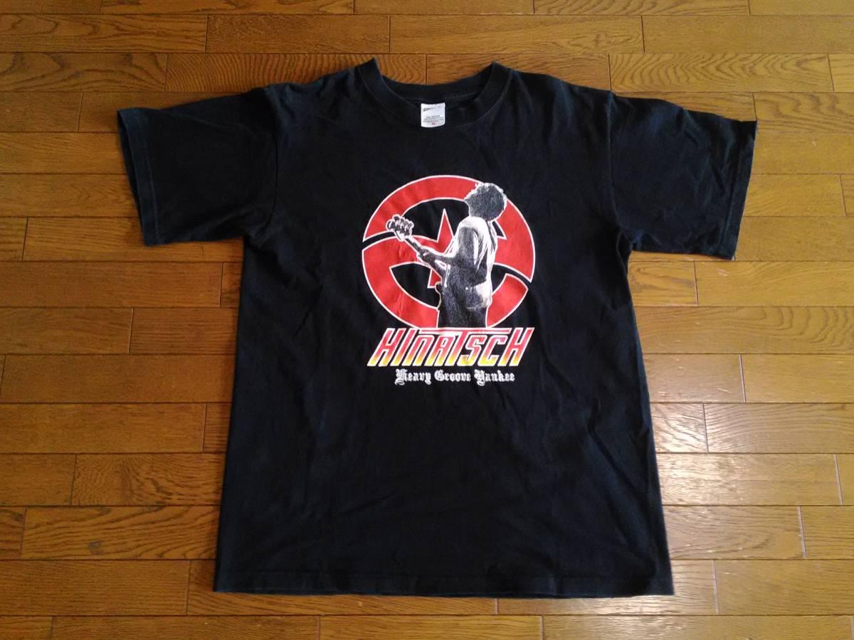 日向秀和 HINATSCH半袖Tシャツ メンズMサイズ 送料164円 ZAZENBOYS ストレイテナー Nothing's Carved in Stone ART-SCHOOL ライブグッズの画像