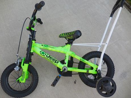 Jeep 12インチ ボーイズバイク 子供用自転車 《グリーン》 男の子 中古_画像1
